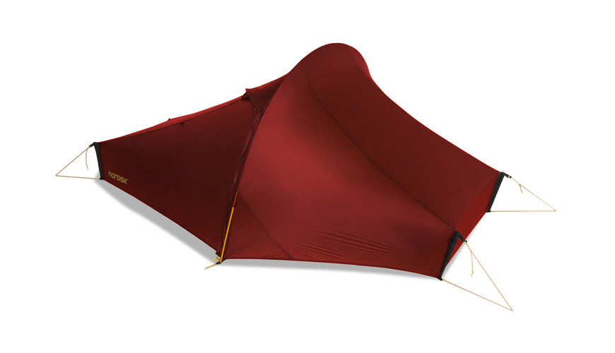 Nordisk Telemark tunneltent 1, light weight rood